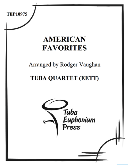 American Favorites- Quartets