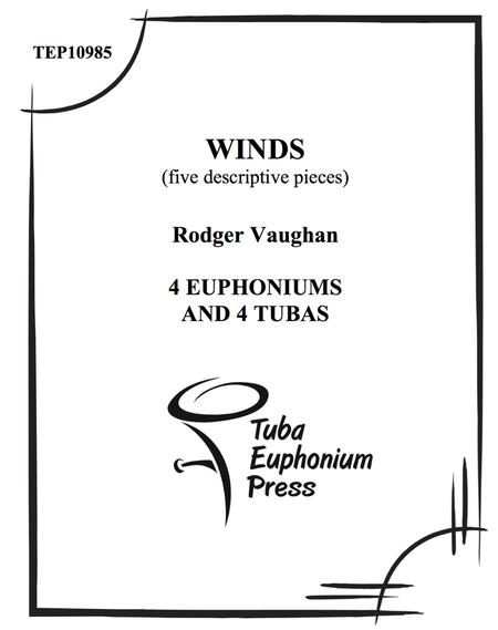 Winds: Five Descriptive Pieces for Tuba-Euphonium Octet