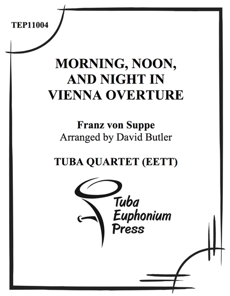 Morning Noon and Night in Vienna Overture