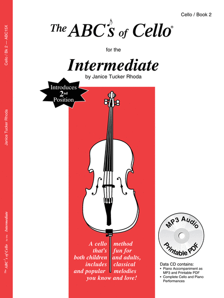 The ABCs of Cello For The Intermediate, Book 2