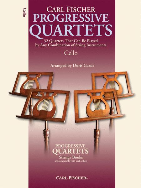 Progressive Quartets for Strings - Cello