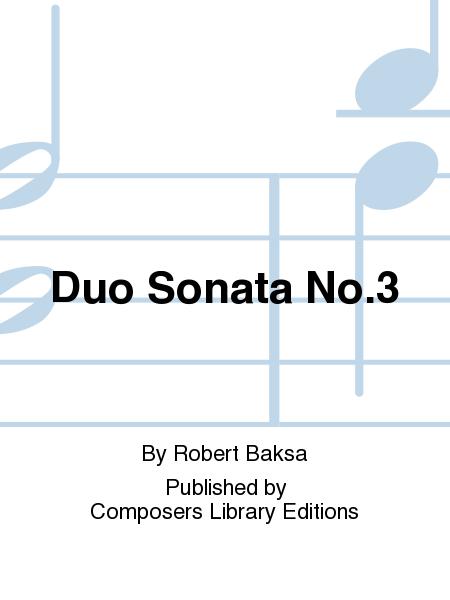 Duo Sonata No.3