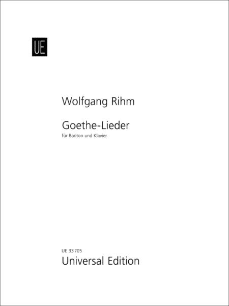 Goethe-Lieder (Goethe Songs)