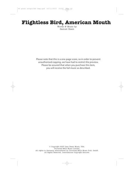 American Mouth Bird 63