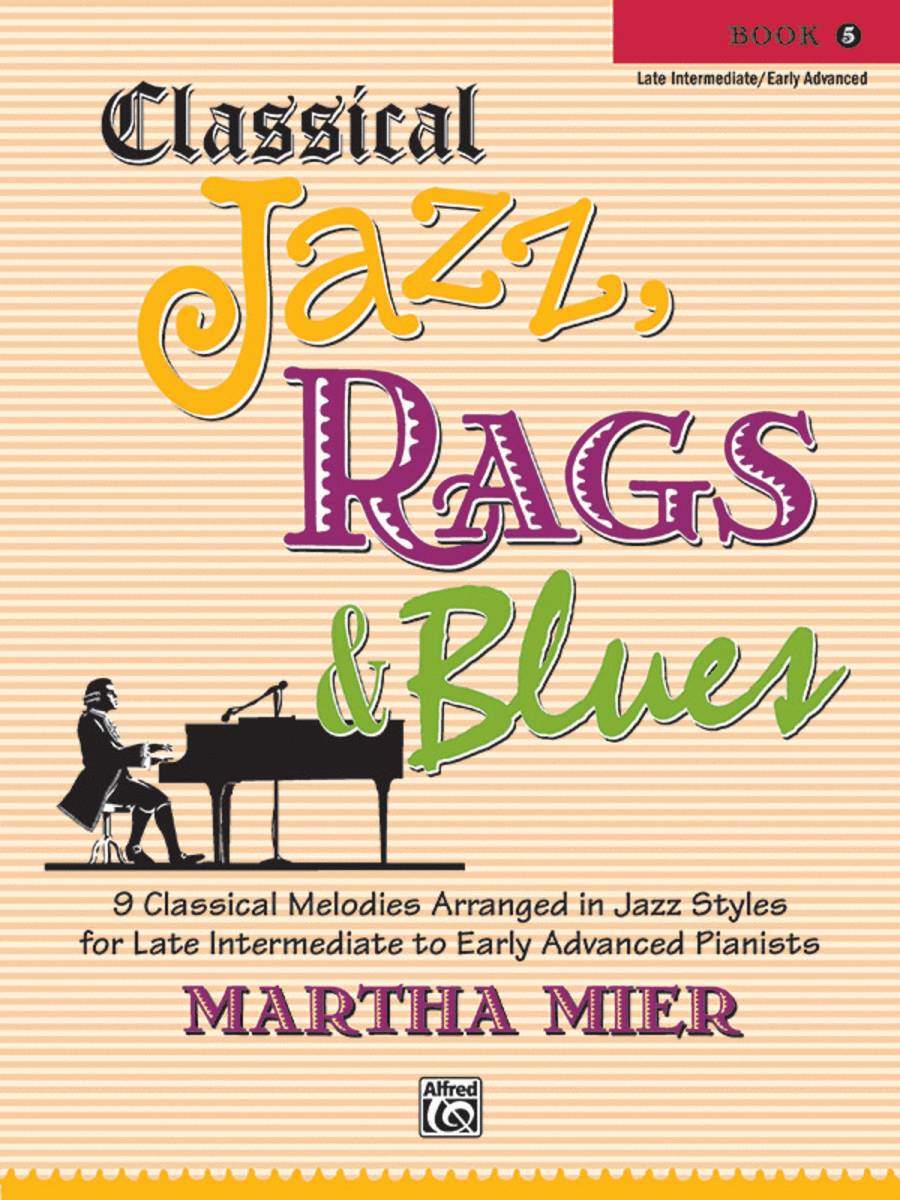 Classical Jazz Rags & Blues, Book 5