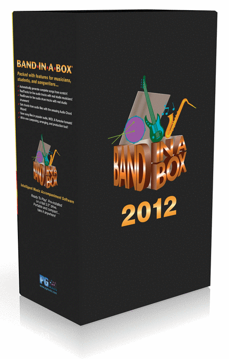 Band-in-a-Box 2012
