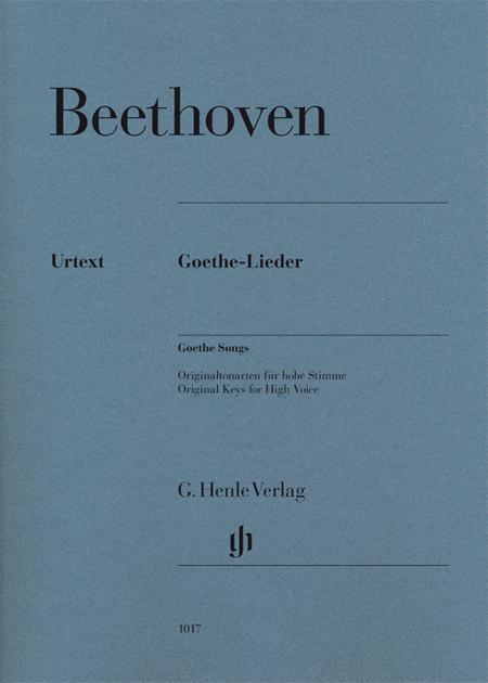 Ludwig van Beethoven - Goethe Songs