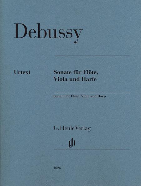 Claude Debussy - Sonata for Flute, Viola and Harp