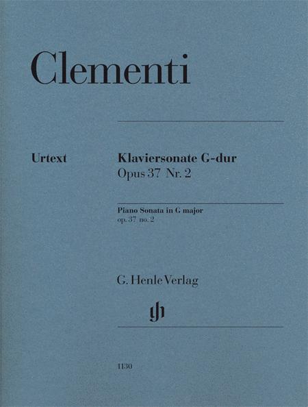 Muzio Clementi - Piano Sonata in G Major, Op. 37, No. 2