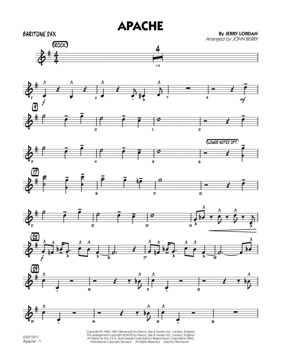 Apache - Baritone Sax