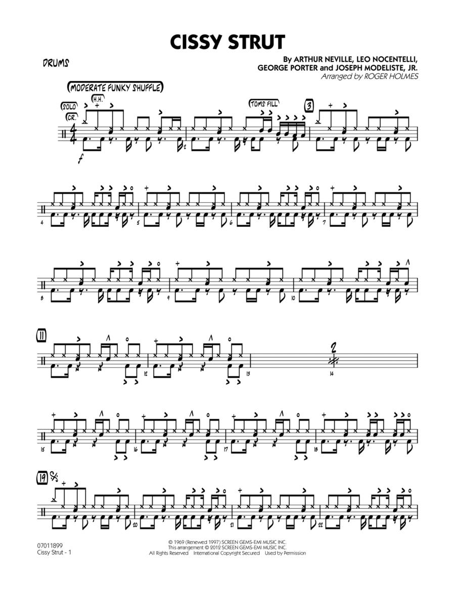 Cissy Strut - Drums
