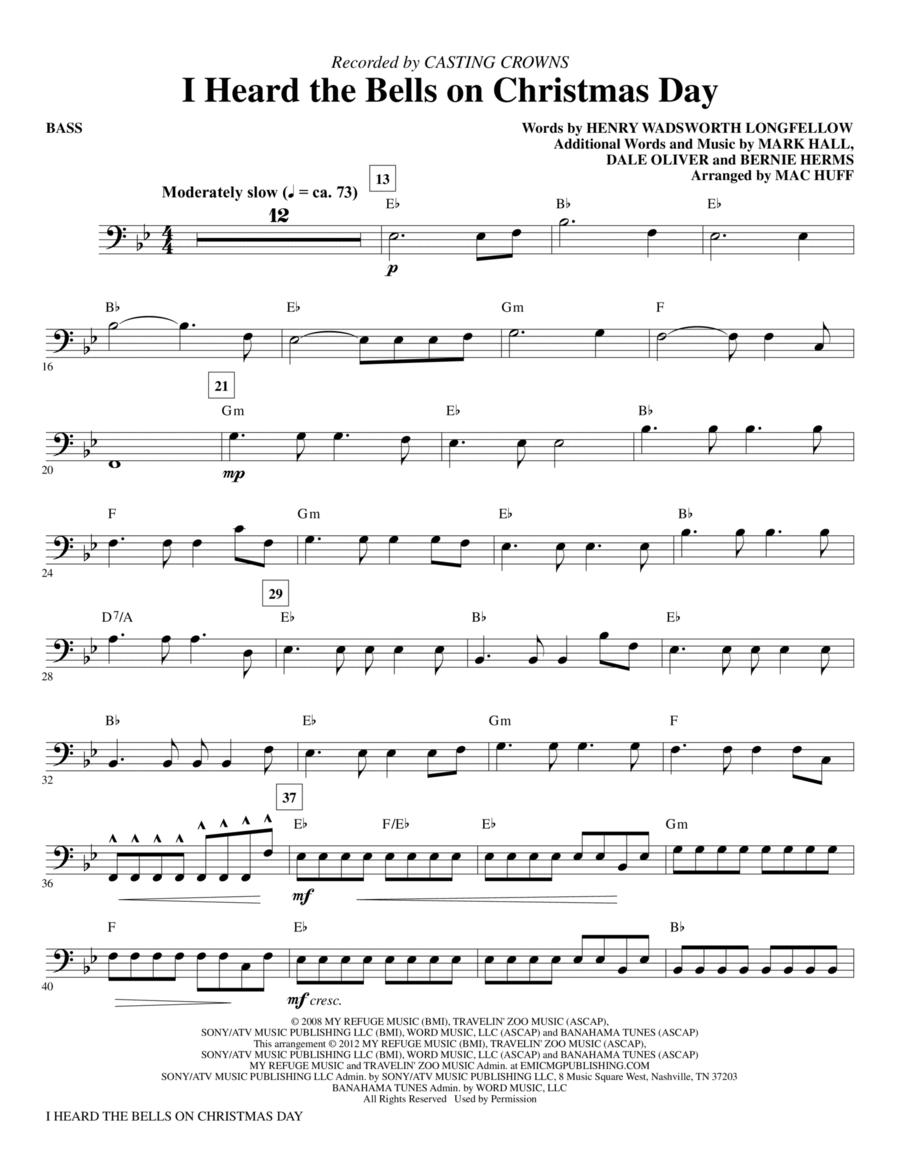 I Heard The Bells On Christmas Day - Bass