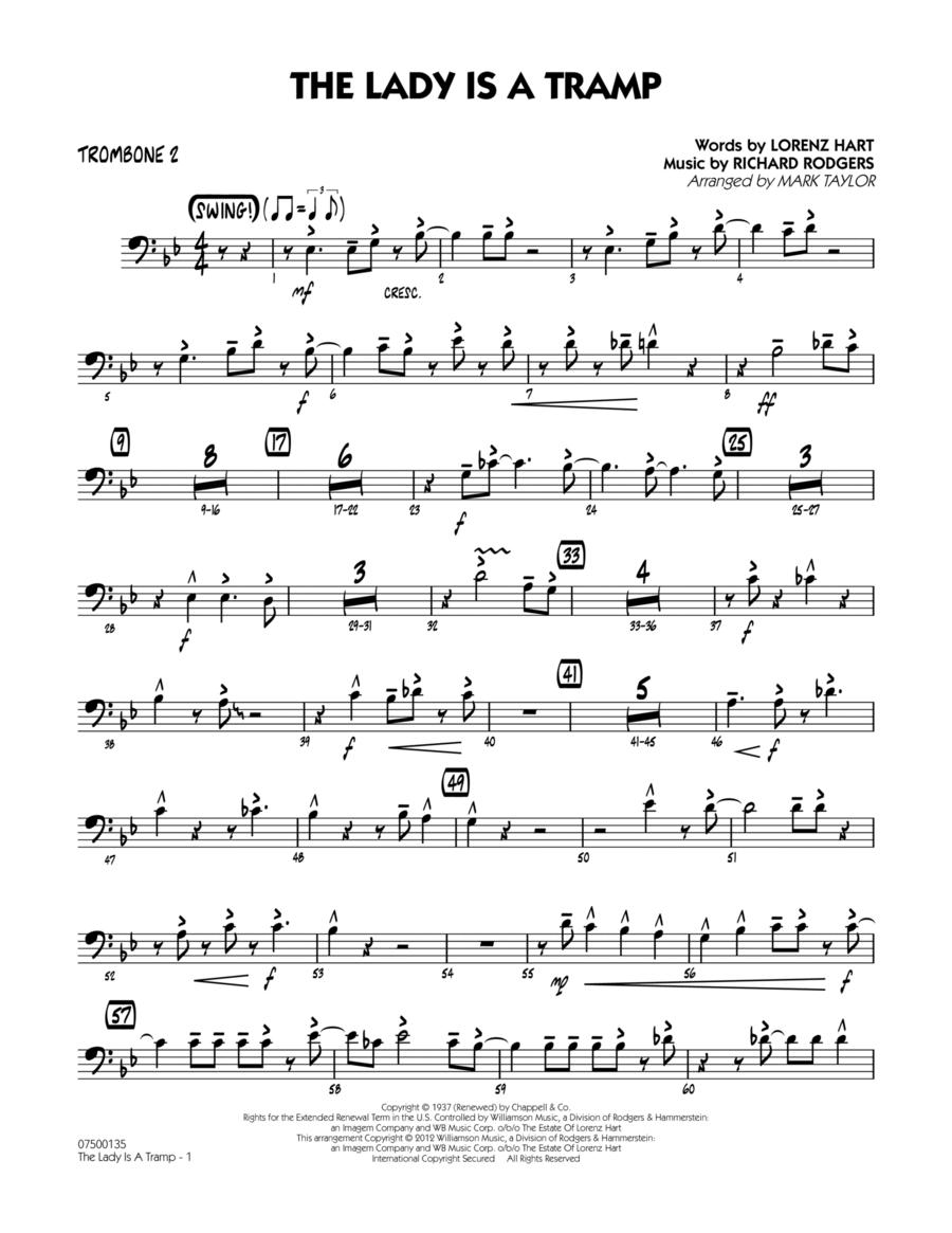 The Lady Is A Tramp - Trombone 2