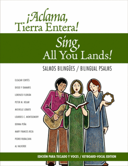 Aclama Tierra Entera: Salmos Bilingues - Keyboard/Vocal edition