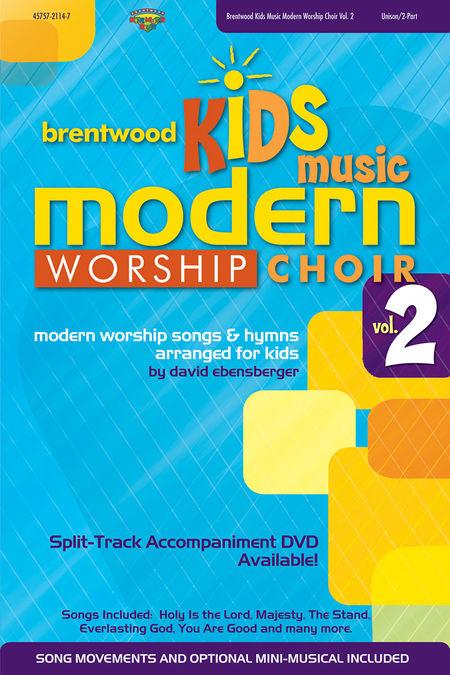 Brentwood Kids Modern Worship Choir V2 (CD Preview Pack)