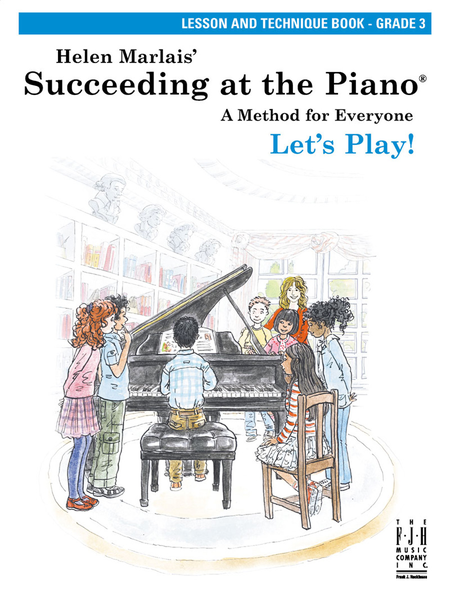 Succeeding at the Piano! , Lesson and Technique Book - Grade 3 (without CD)