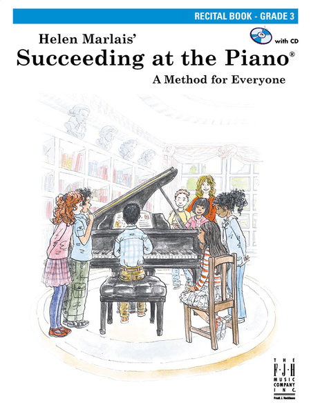 Succeeding at the Piano Recital Book - Grade 3