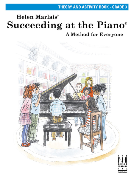 Succeeding at the Piano Theory and Activity Book, Grade 3