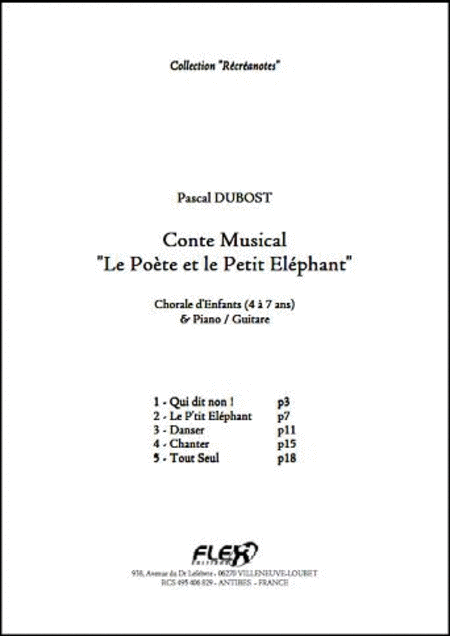Musical Story Le Poete et le Petit Elephant