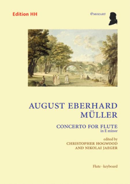 Flute concerto in E minor