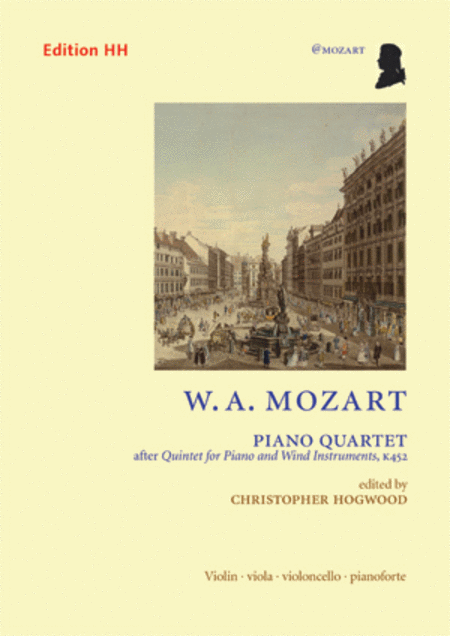 Piano quartet after K452