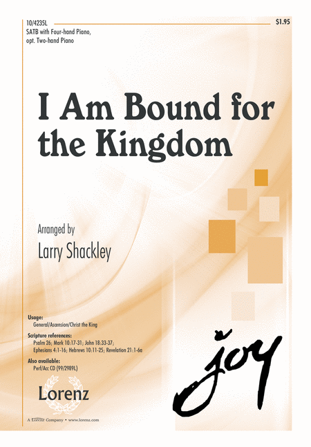 I Am Bound for the Kingdom