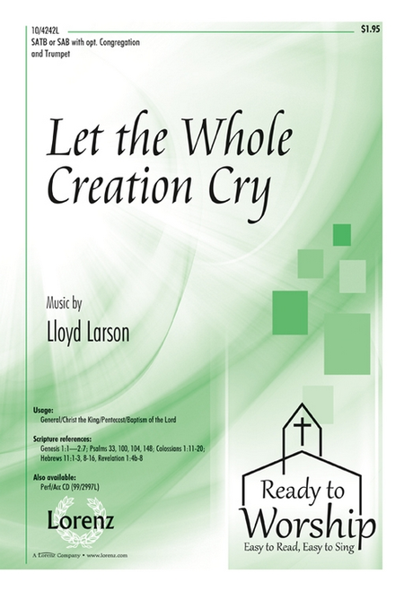 Let the Whole Creation Cry