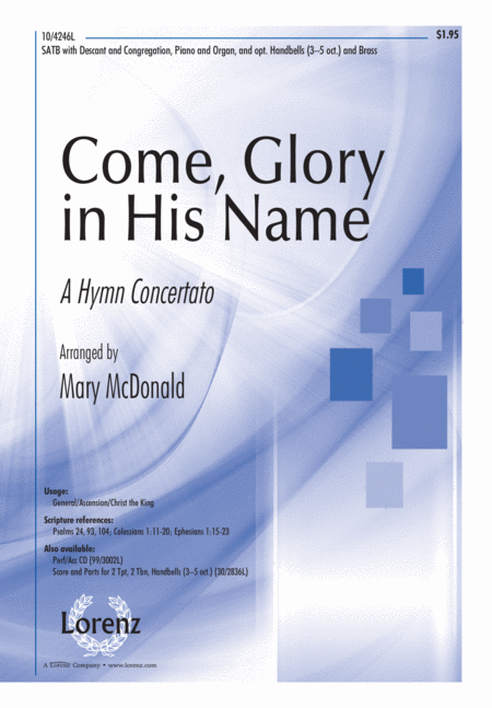 Come, Glory in His Name