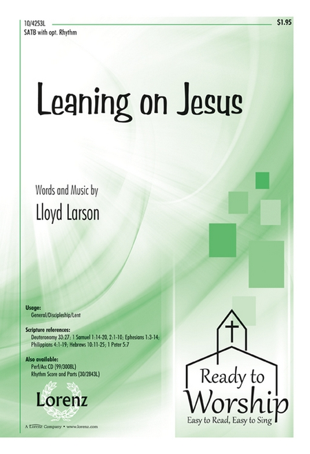 Leaning on Jesus