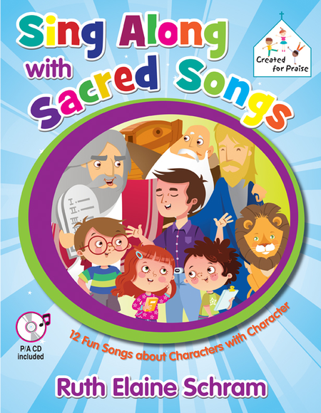 Sing Along with Sacred Songs - Songbook with Performance/Accompaniment CD
