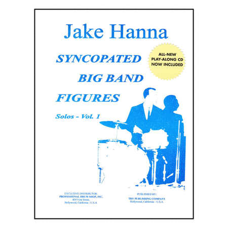Syncopated Big Band Figures Solos, Volume 1 with CD