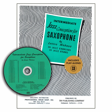 Intermediate Jazz Conception For Saxophone with CD