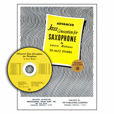 Advanced Jazz Conception For Saxophone with CD