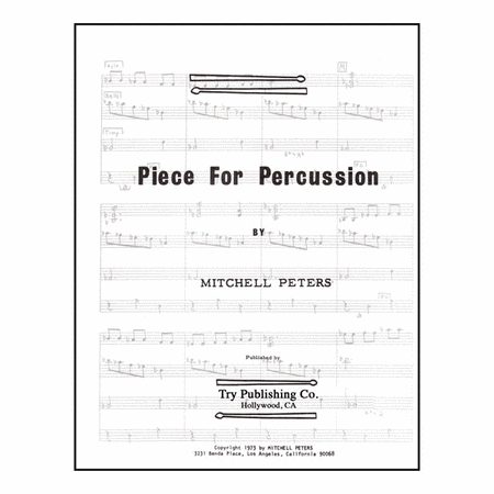 Piece For Percussion
