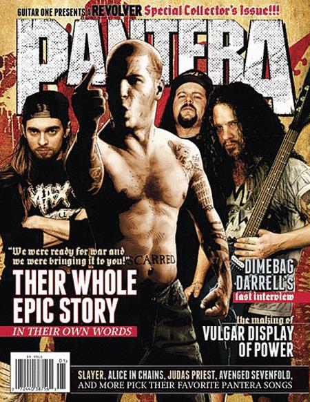 Revolver Magazine - Spring 2012 Pantera Special Issue
