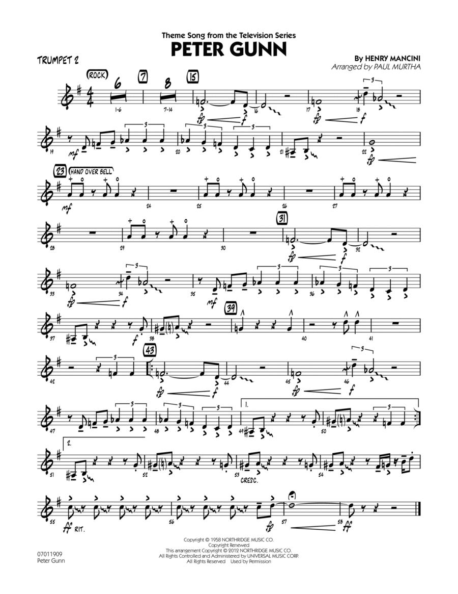 Peter Gunn - Trumpet 2