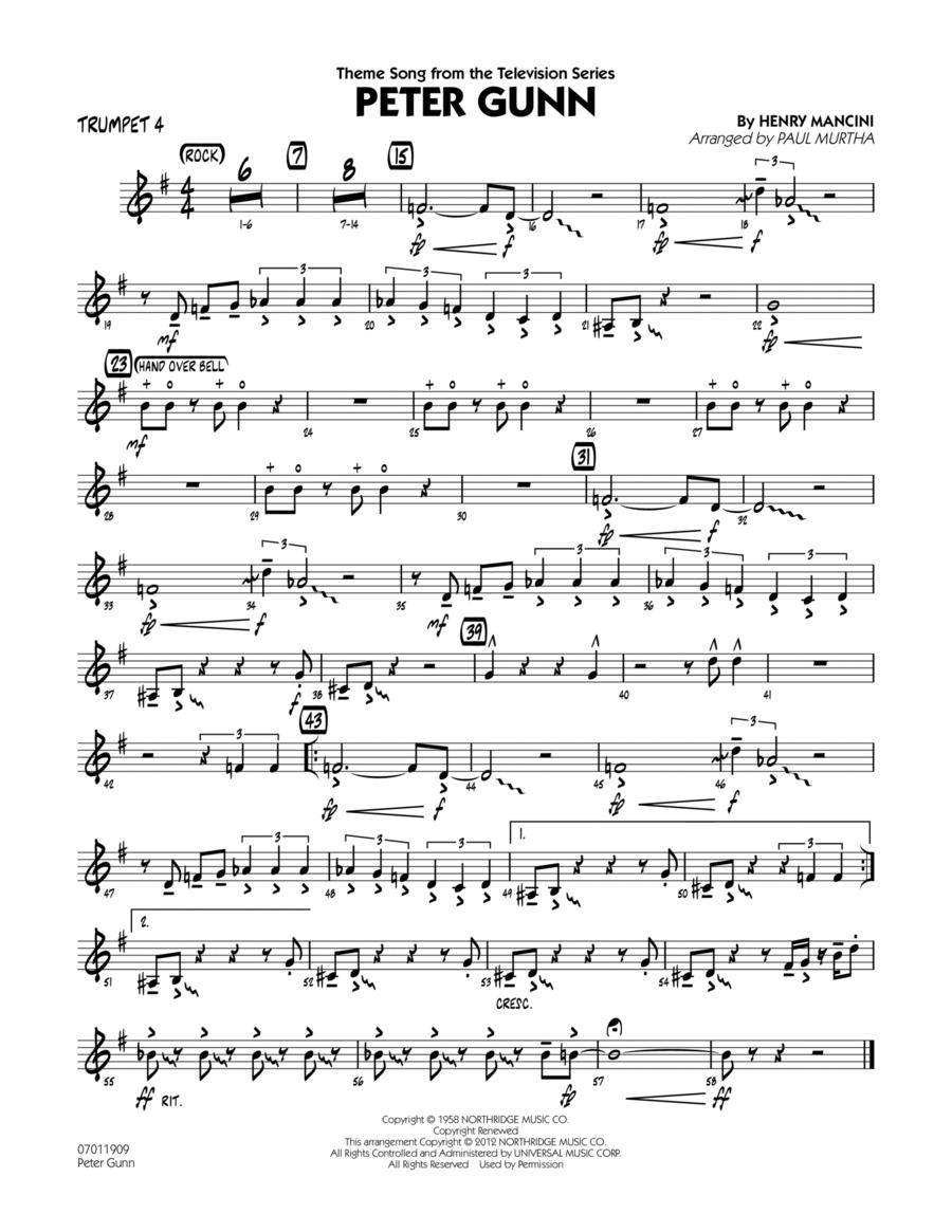 Peter Gunn - Trumpet 4