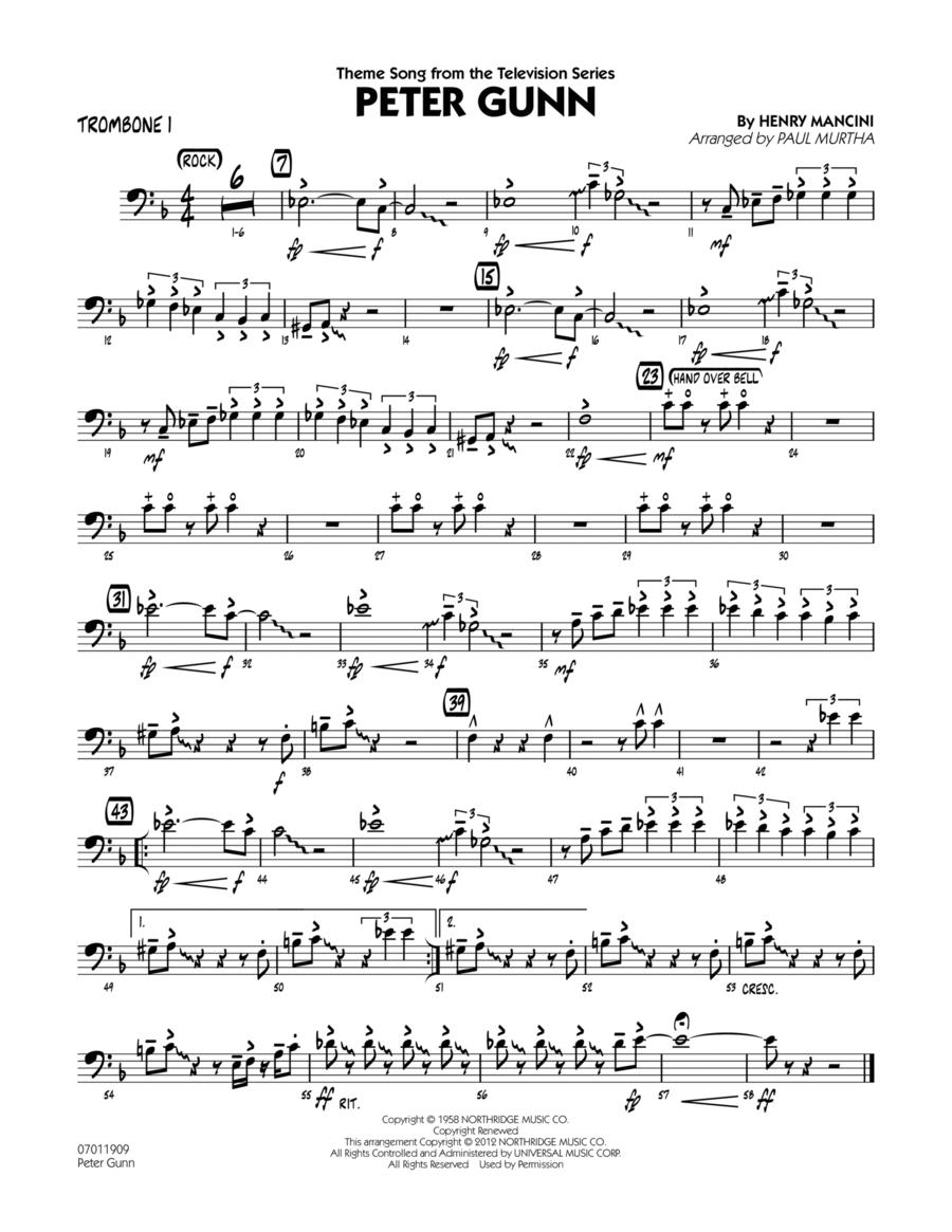 Peter Gunn - Trombone 1