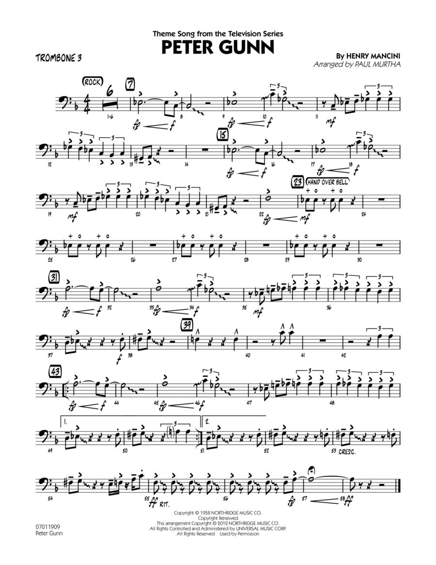 Peter Gunn - Trombone 3
