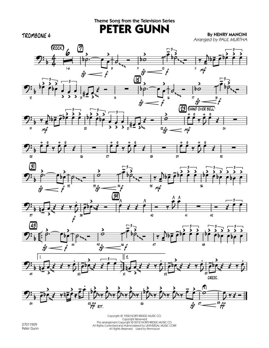 Peter Gunn - Trombone 4