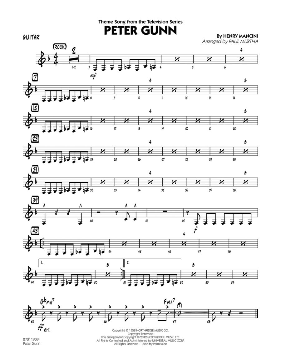 Peter Gunn - Guitar