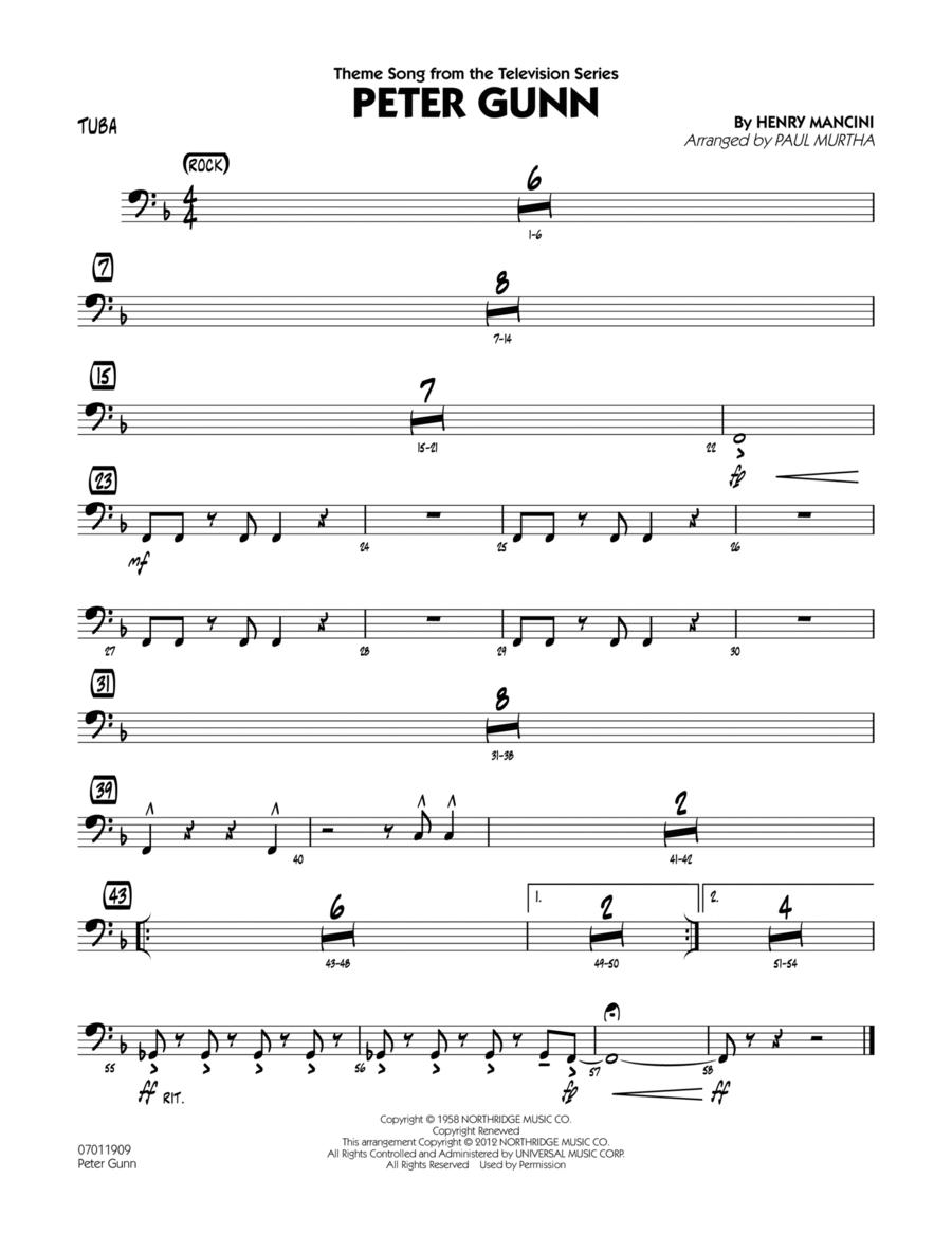 Peter Gunn - Tuba