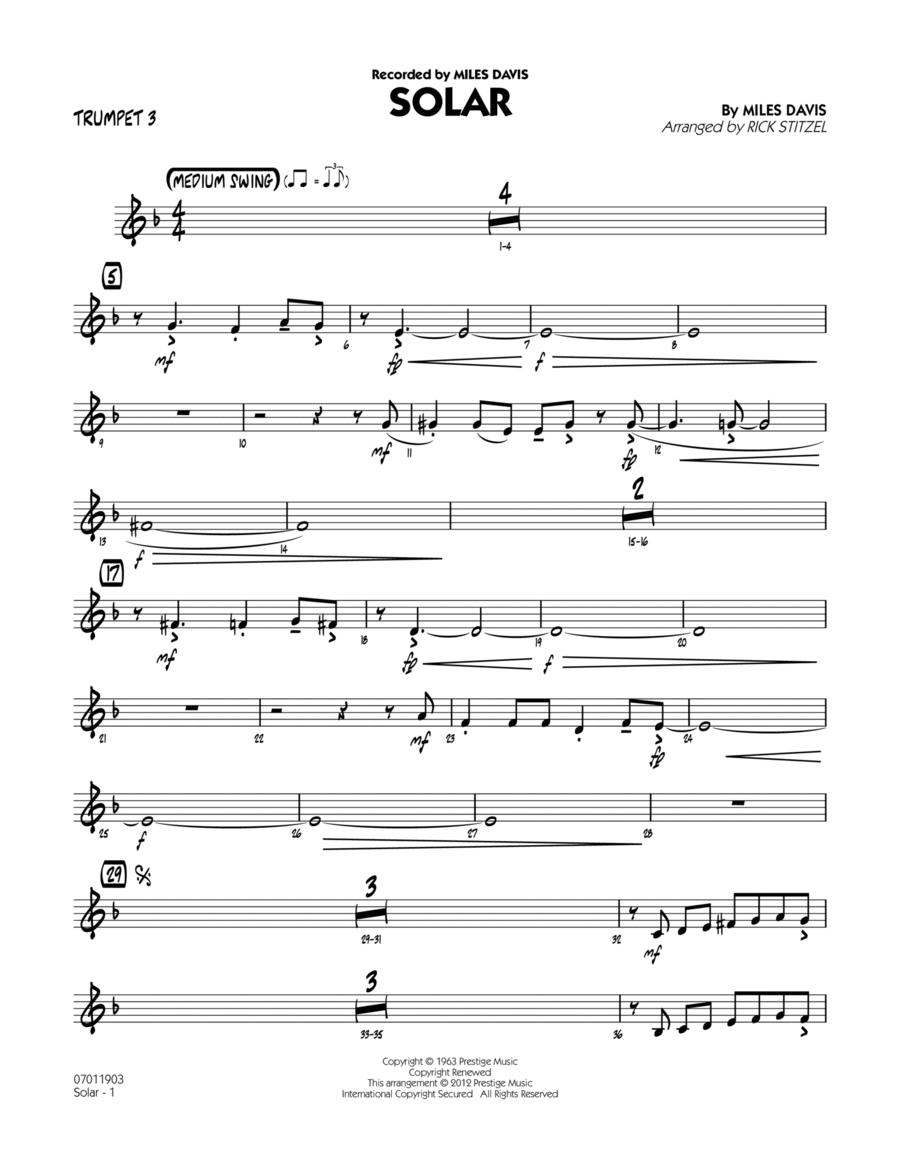 Solar - Trumpet 3