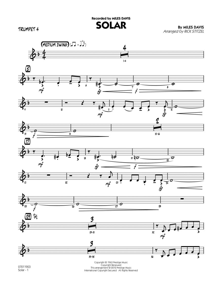 Solar - Trumpet 4