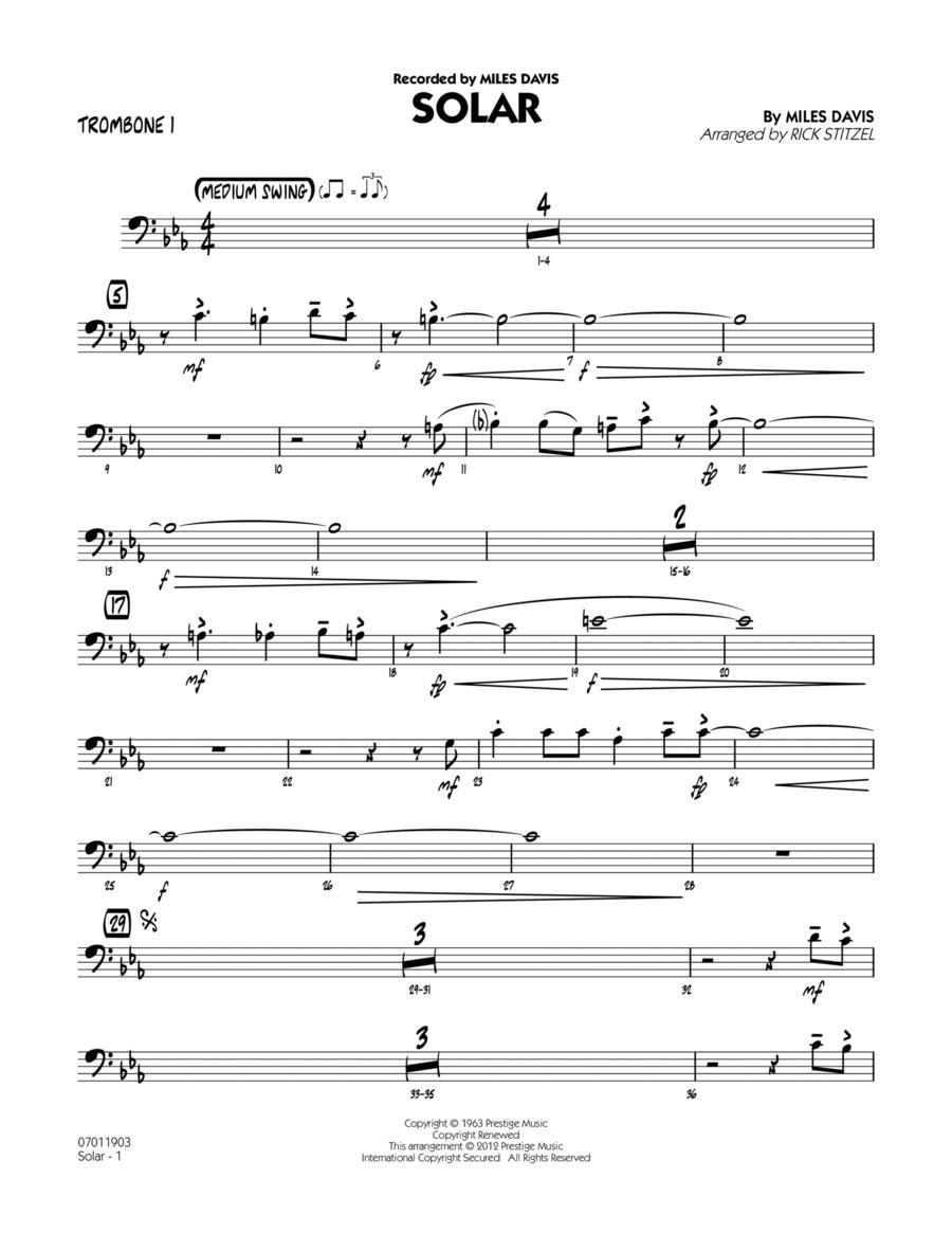 Solar - Trombone 1
