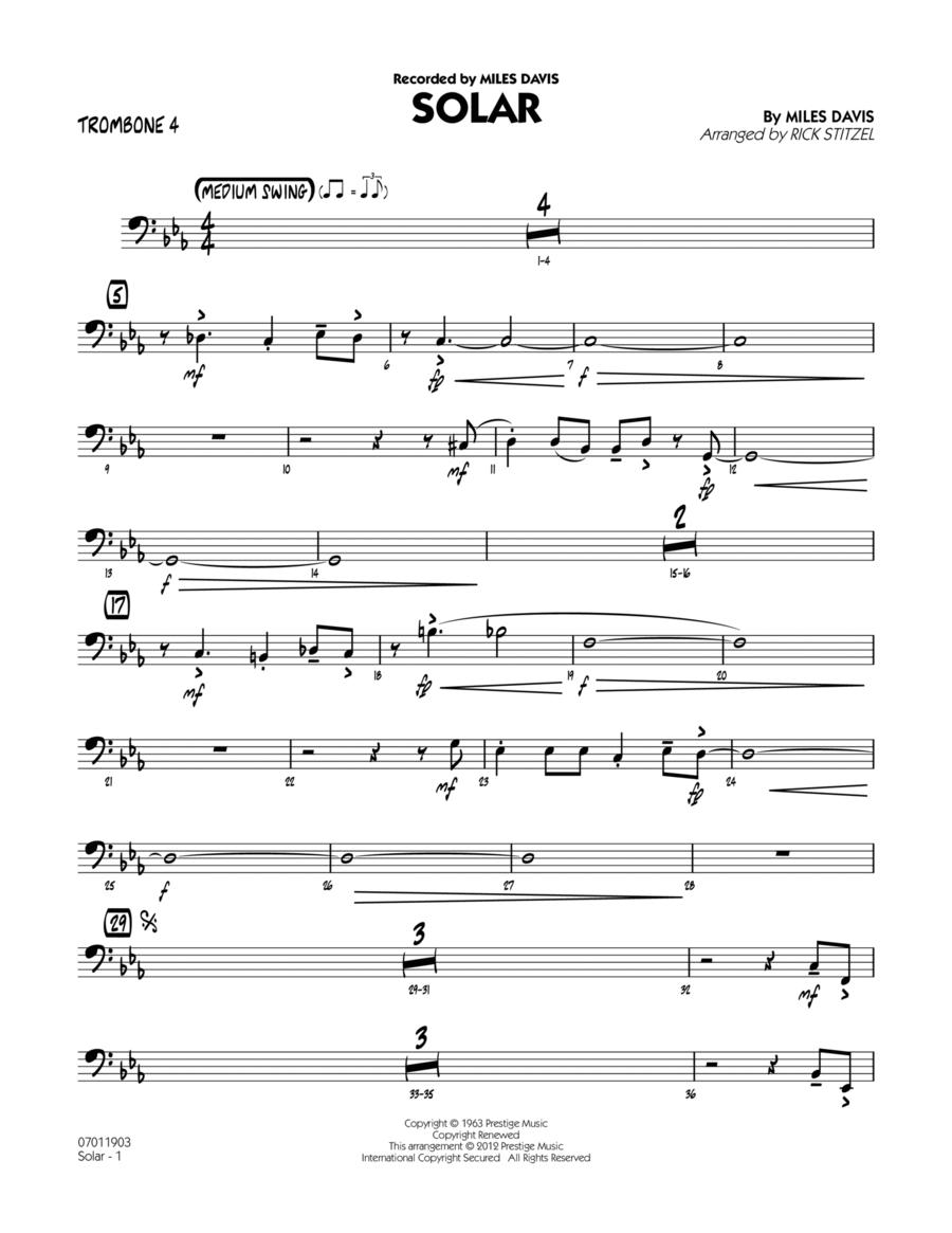 Solar - Trombone 4