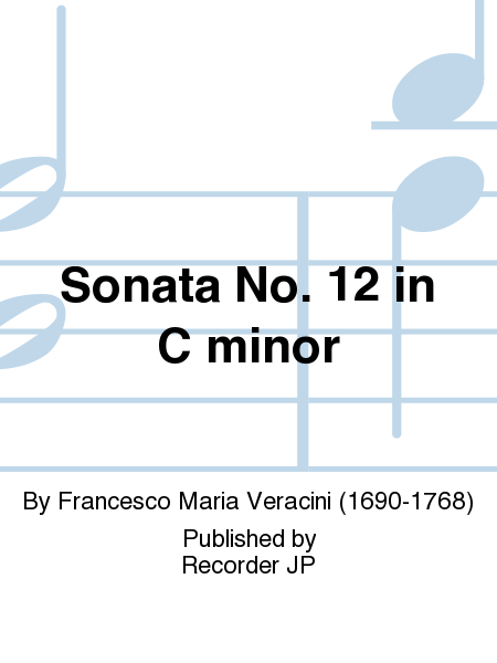 Sonata No. 12 in C minor