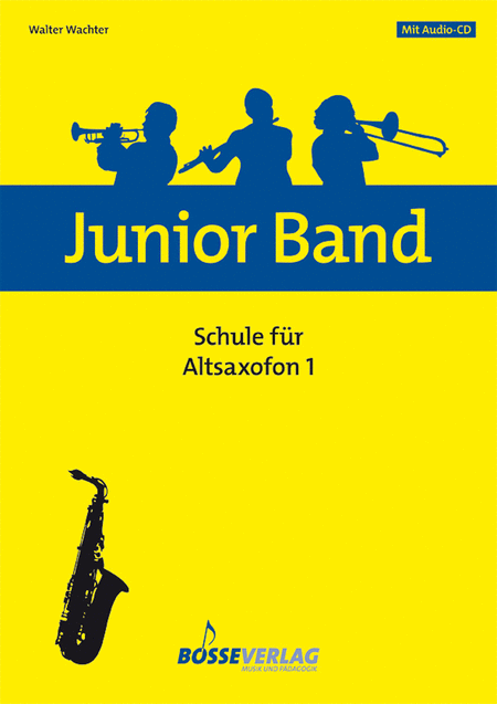 Junior Band Schule 1 for Alto Saxophon (Baritone Saxophone)