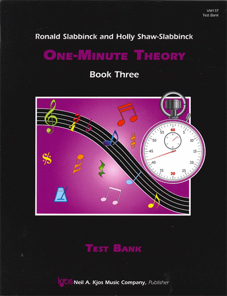 One-Minute Theory, Book 3 - Test Bank