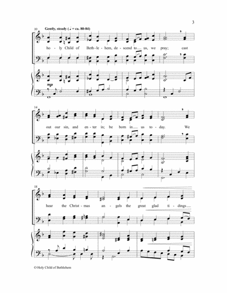 O Holy Child of Bethlehem